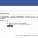 Facebook: device control