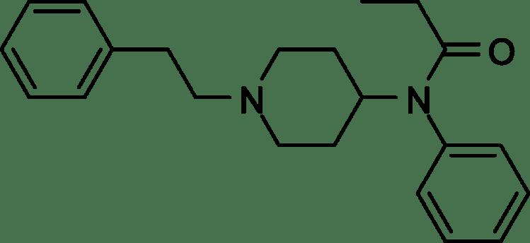 Struttura del fentanil