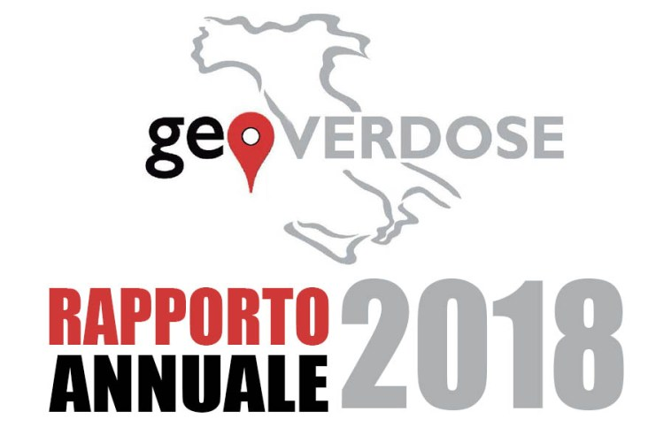 GeOverdose: rapporto annuale 2018