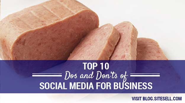 Top 10 Dos and Don'ts of Social Media for Business