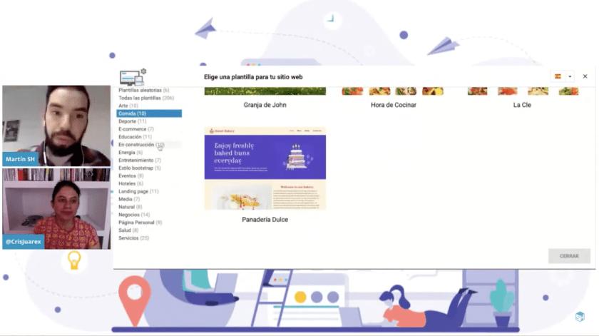 Captura Creando un sitios web facil - Martín Di Luzio