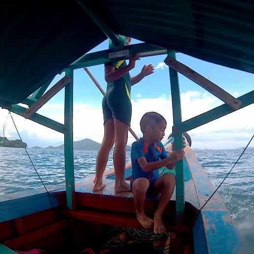 blog sittakarina - Serunya Ajak Anak Snorkeling di Pulau Pahawang (2)