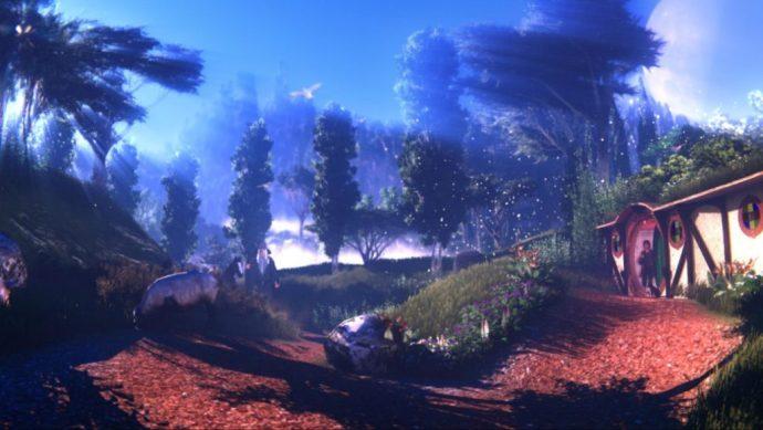 Shire Scene created in Lumion