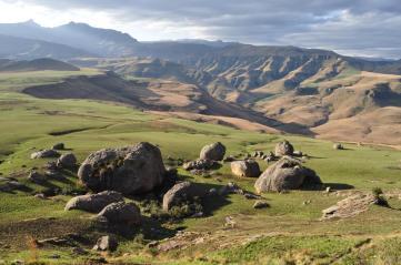 The beautiful Drakensberg Mountains