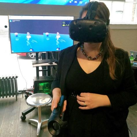 Exploring a VR museum concept