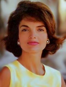 jackie o kennedy headshot face shot