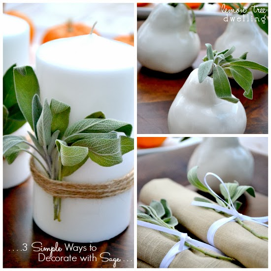 Decorate With Sage