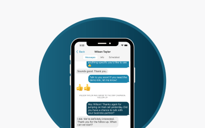 The only sales tool you need to build trust with leads: Text messaging with Skipio