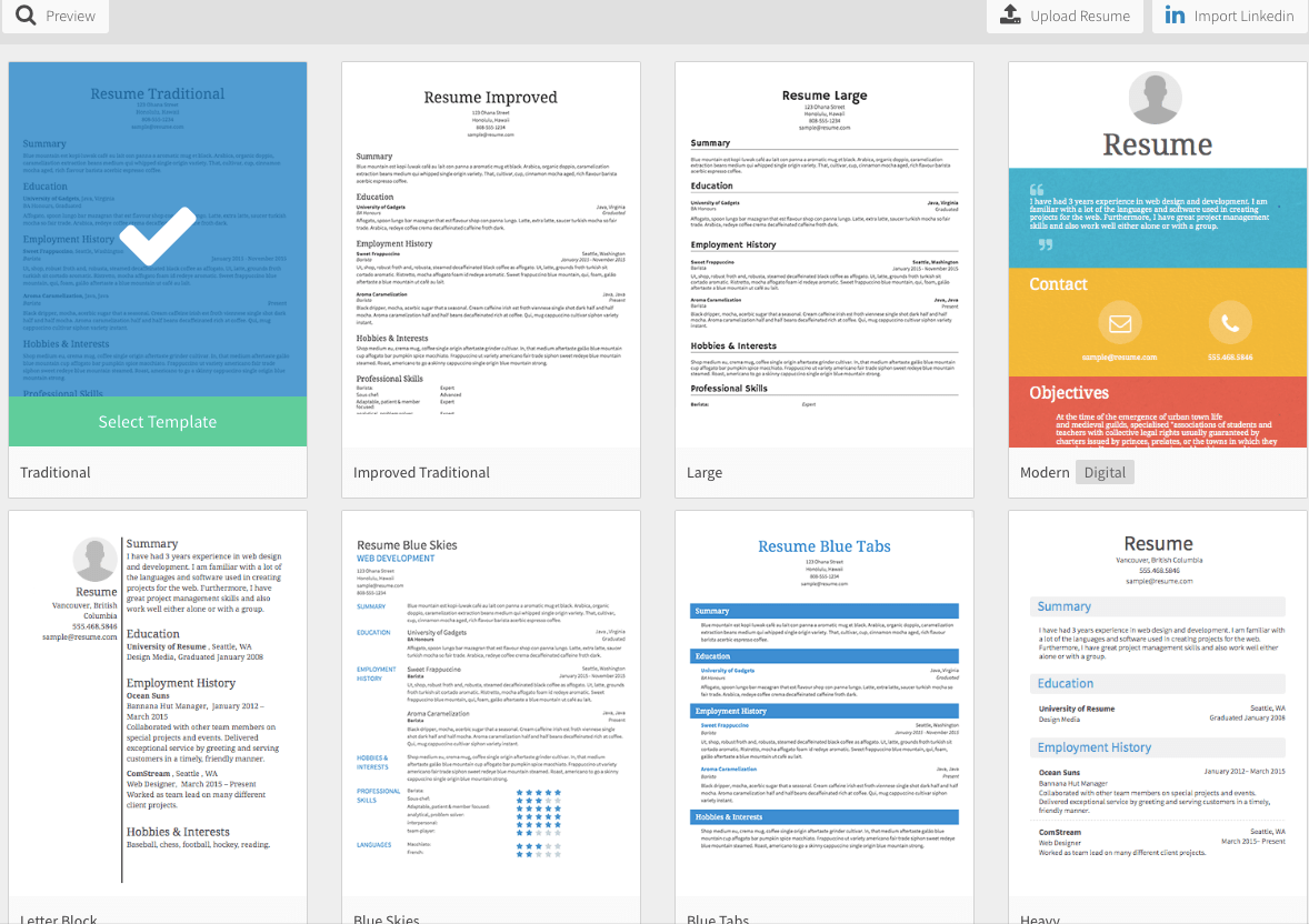 You Need To Download These Awesome  Free Resume Templates Now
