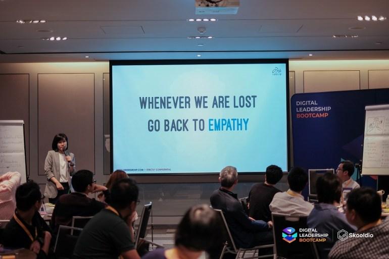 คุณเมษ์ ศรีพัฒนาสกุล ที่ Digital Leadership Bootcamp | Skooldio Blog - 6 สิ่งที่องค์กรมักเข้าใจผิดเกี่ยวกับ Design Thinking