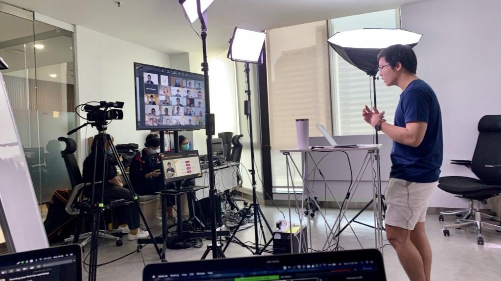 เบื้องหลังการถ่ายทำ | Skooldio Virtual Workshop