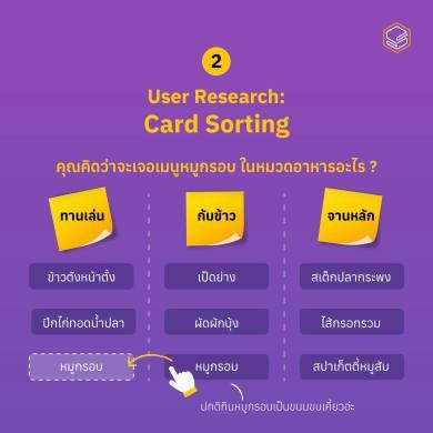 card sorting | Skooldio Blog - ออกแบบ UX/UI ให้ดีขึ้นง่ายๆ ด้วยหลักการ Mental Model