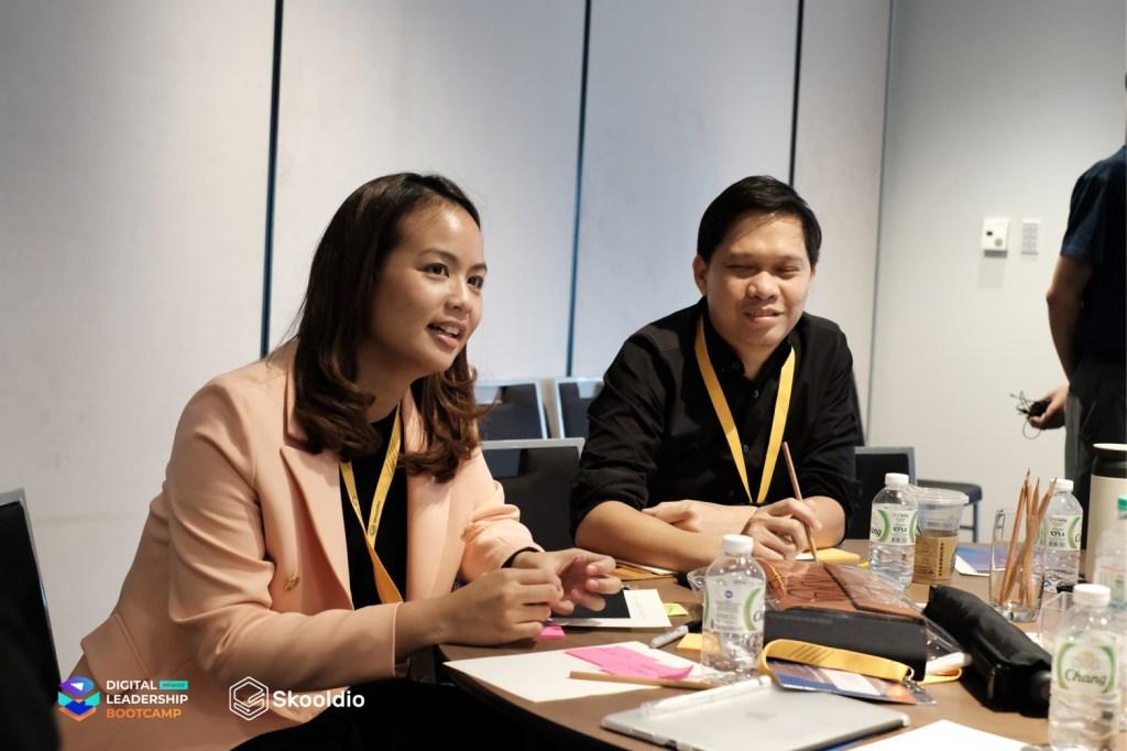 คุณเจสในหลักสูตร Digital Leadership Bootcamp | Skooldio Blog - แค่เสริมสกิลดิจิทัลให้ธุรกิจถึงเจอโควิดก็ไม่กระทบ