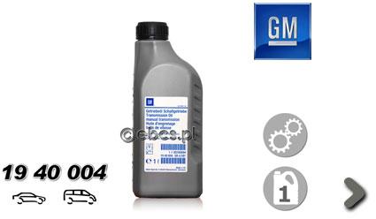 Oleje przekładniowy Opel GM 1940004