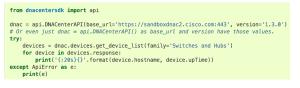 simplified with sdk Cisco DevNet Associate Exam