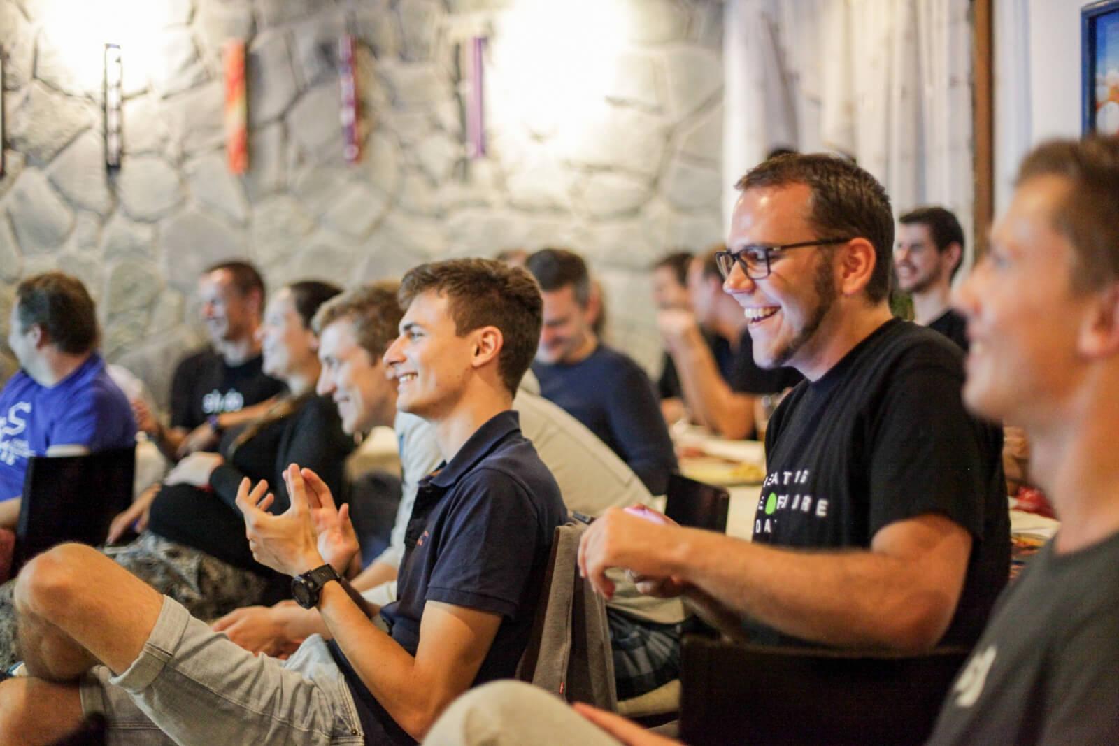 Slido Offsite team building event