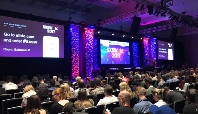 SXSW 2017 using Slido