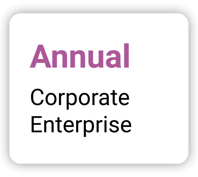 Annual - Corporate Enterprise