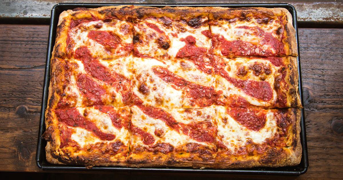 Sicillian Pie of Pizza