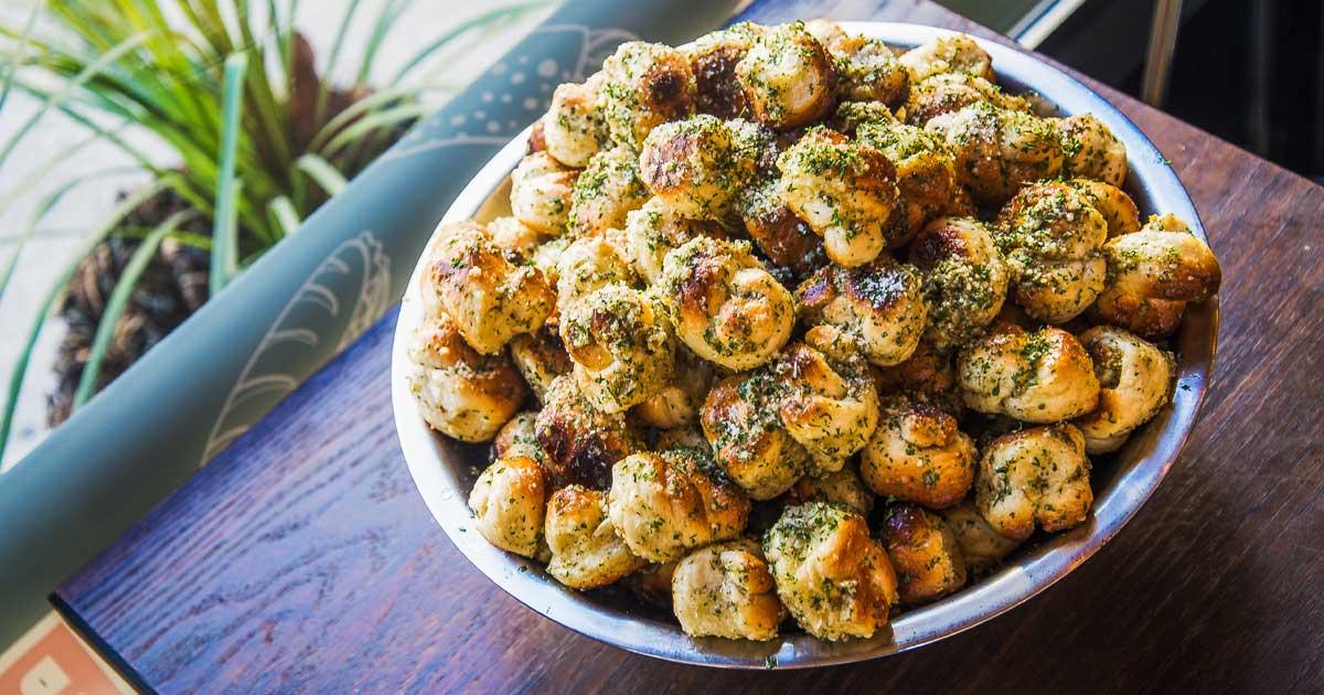 Bowl of Garlic Knots
