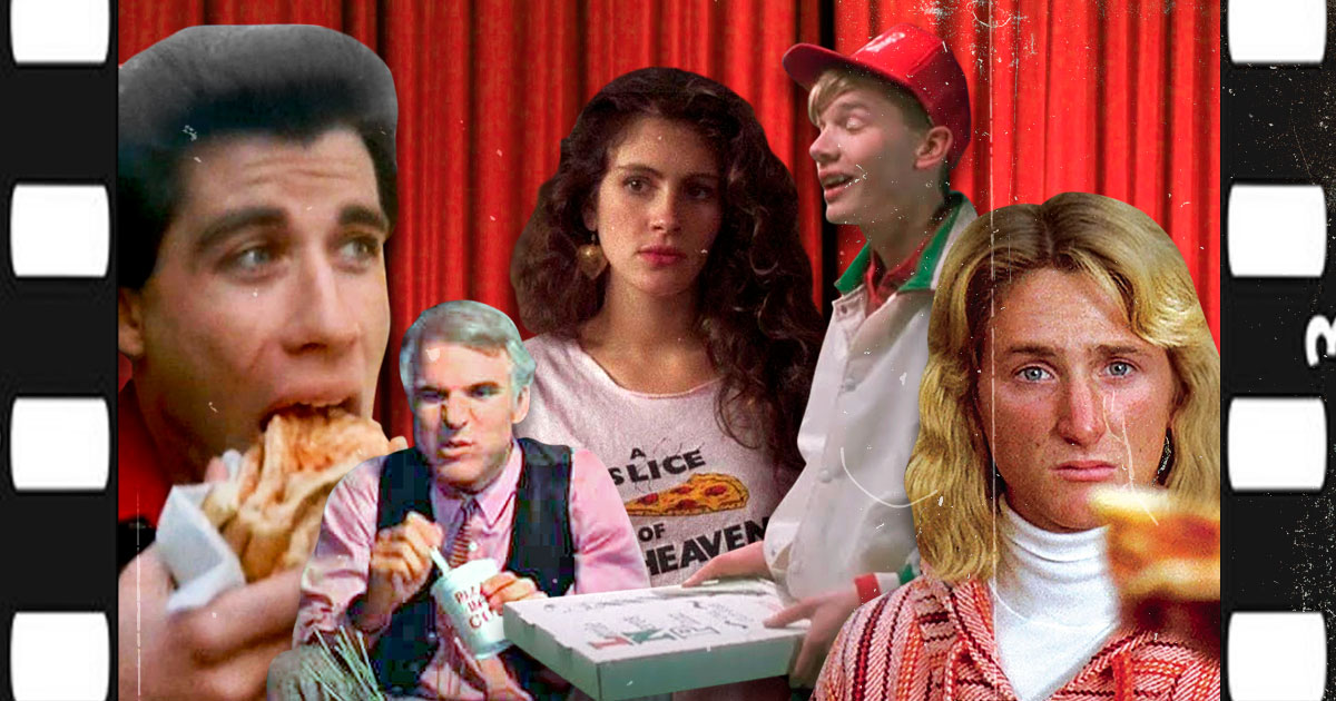 Iconic pizza movie scenes