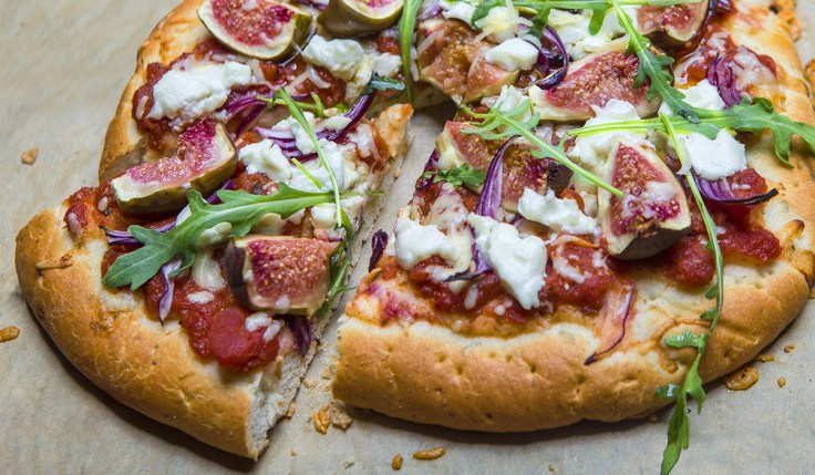 Brunch Pizza with Figs