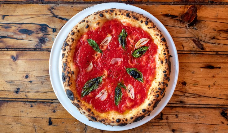 Brunetti Marinara Cheeseless Pizza