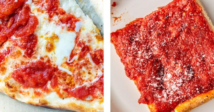 Trenton Tomato Pie Vs Philly Tomato Pie Slice Pizza Blog