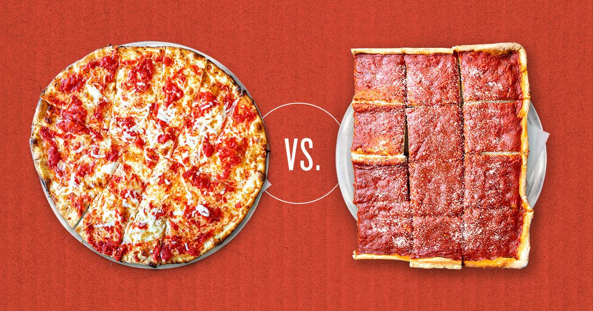 Trenton Tomato Pie vs. Philly Pizza