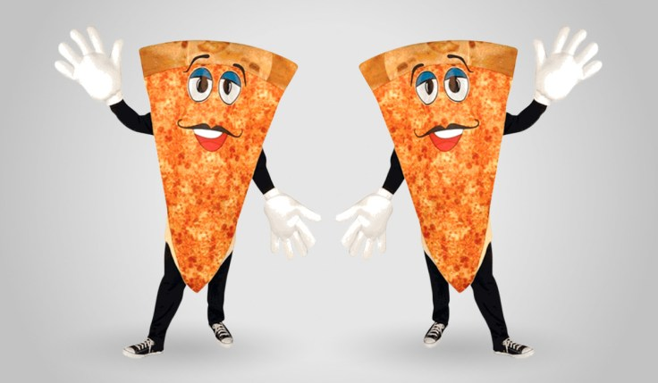 PIzza Slice Costume Mascot Halloween
