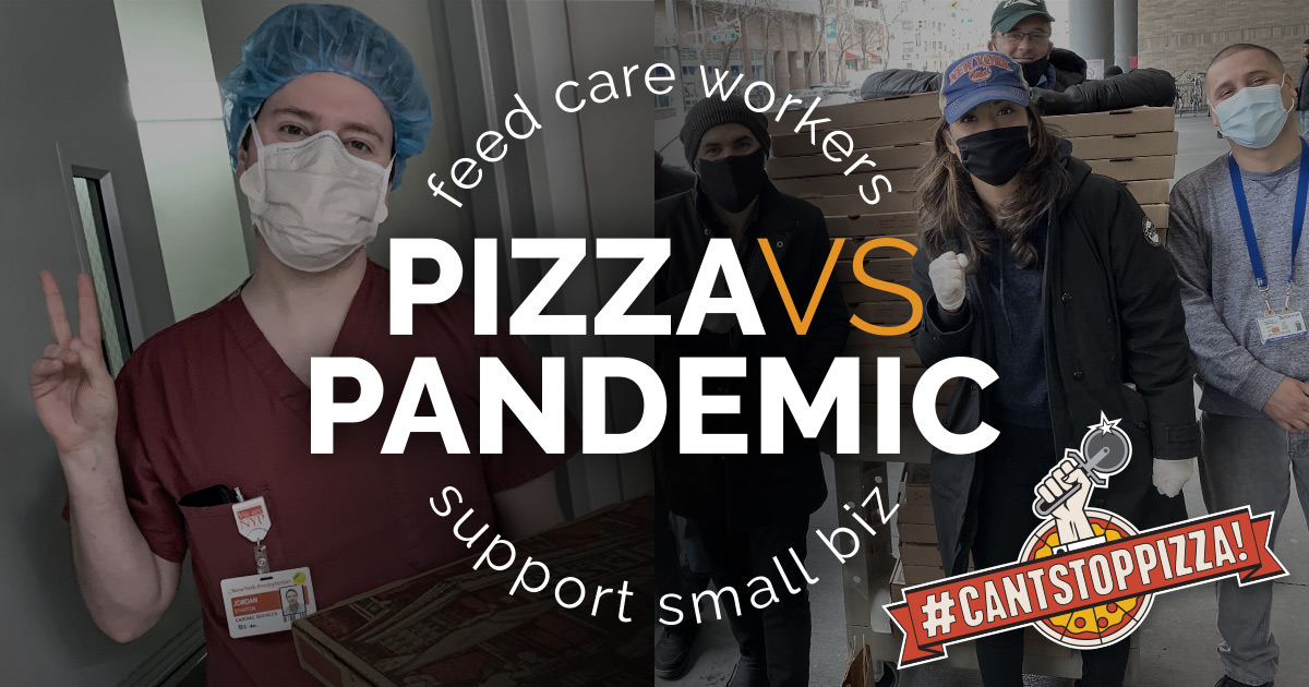 Pizza vs Pandemic Slice