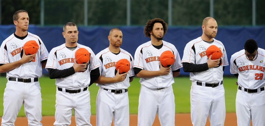 playing baseball in Europe
