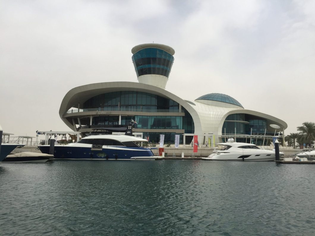 Beautiful Yas Marina in Dubai.