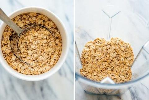 How to make oats powder at home