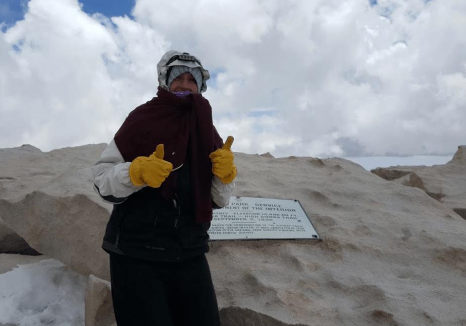 Britnie at Summit Mt Whitney - original photo