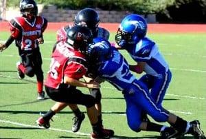 pop warner football