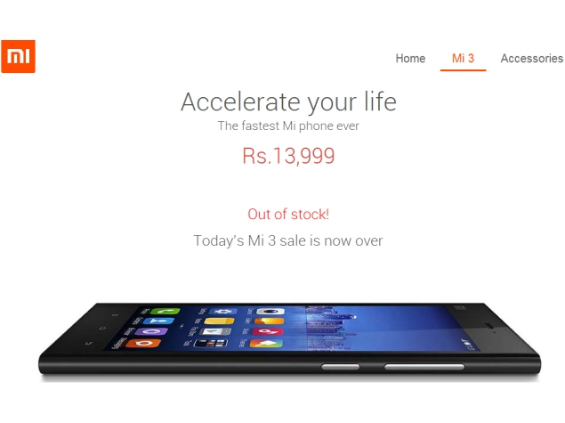 xiaomi_mi_3_india_sold_out