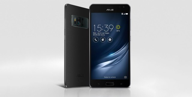 Asus Zenfone AR With Daydream and 8GB RAM Announced At CES 2017