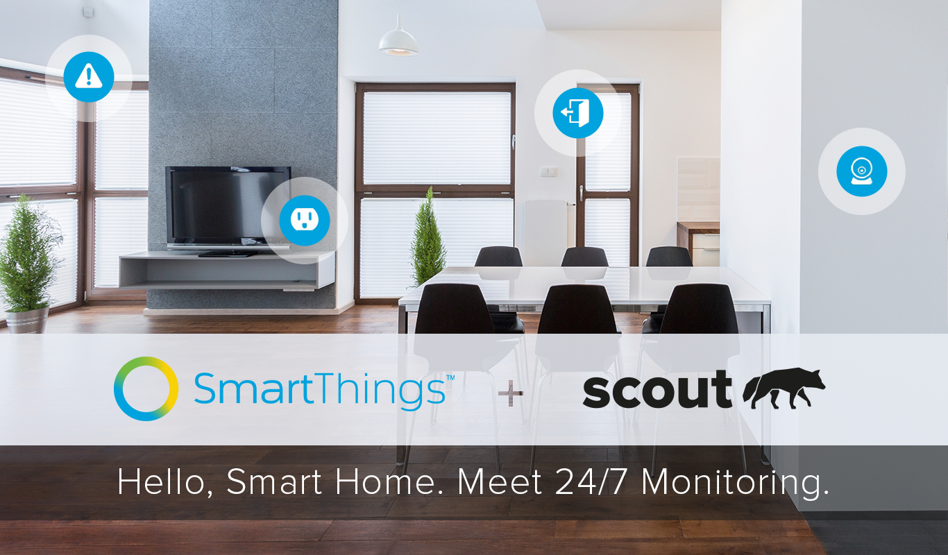 & Professional Monitoring through Scout Alarm | SmartThings
