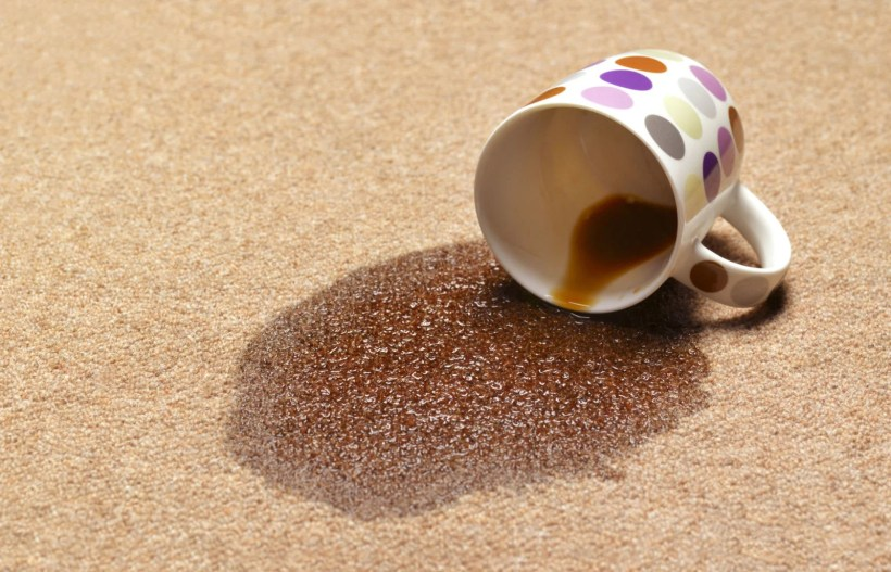 How To Get Coffee Stain Out Of Car Carpet