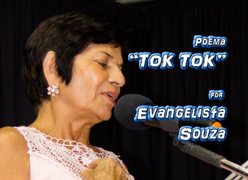 """Poema """"TOK TOK"""" por Evangelista Souza - Pílulas de Poesia"""