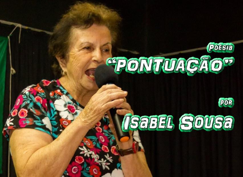 """10 - Poesia """"PONTUAÇÃO"""" por Isabel Sousa - Pílulas de Poesia"""