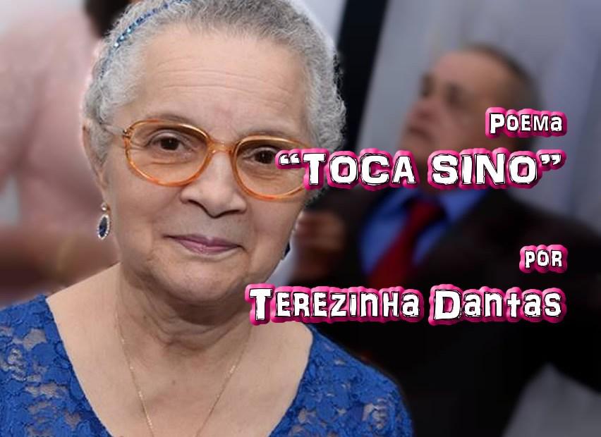 """07 - Poema """"TOCA SINO"""" por Terezinha Dantas - Pílulas de Poesia"""