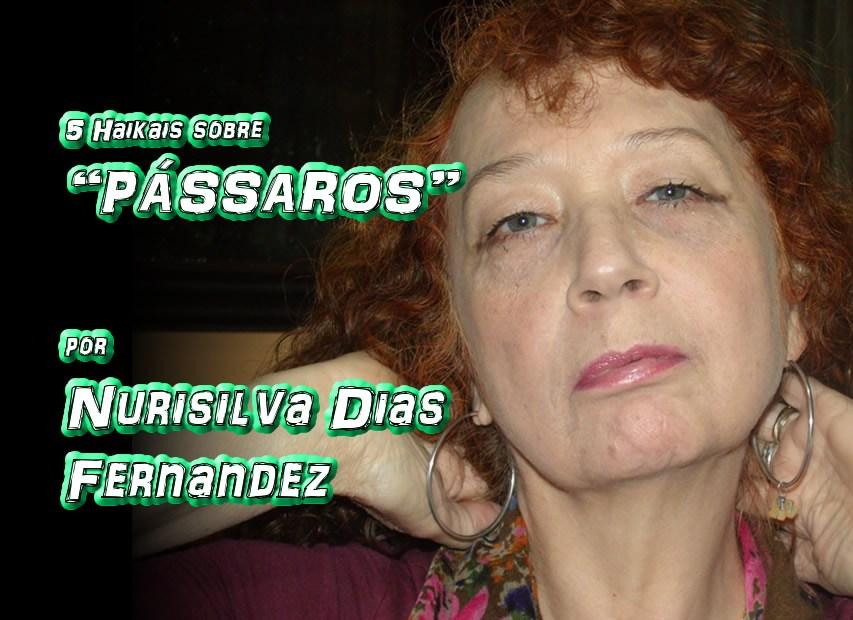 """09 - Poema """"CINCO HAIKAIS SOBRE PÁSSAROS"""" por Nurisilva Dias Fernandez - Pílulas de Poesia"""