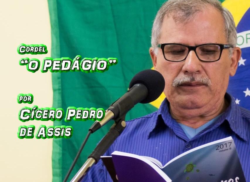 "10 - Cordel ""O PEDAGOGO DA RIMA"" por Cícero Pedro de Assis - Pílulas de Poesia"