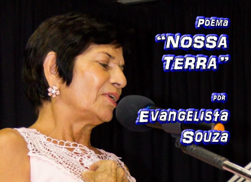 """10 - Poema """"NOSSA TERRA"""" por Evangelista Souza - Pílulas de Poesia"""