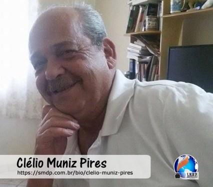 Clélio Muniz Pires, poeta, participante no projeto Publique-se da SMDP em prol do Café com Poesia. Coleção: Leveza da Alma - Volume 6