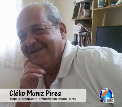 Clélio Muniz Pires, poeta, participante no projeto Publique-se da SMDP em prol do Café com Poesia. Coleção: Leveza da Alma - Volume 5
