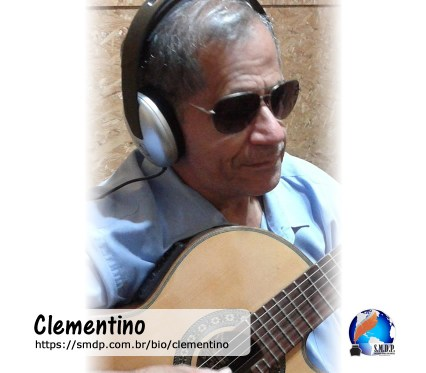 Clementino, poeta, participante no projeto Publique-se da SMDP em prol do Café com Poesia. Coleção: Leveza da Alma - Volume 10