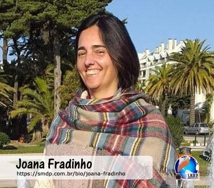 Joana Fradinho, poeta, participante no projeto Publique-se da SMDP em prol do Café com Poesia. Coleção: Leveza da Alma - Volume 11